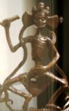 Tibetan figurine that the Tibetan dodenboek used JMKH