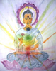 Buddha, by MPHKeppel Hesselink-van Blommestein