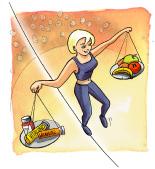orthomoleculaire voeding: de balans vinden