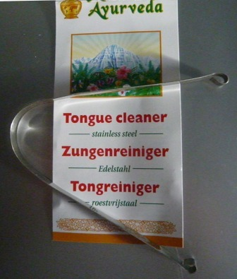 Ayurvedische tongschraper